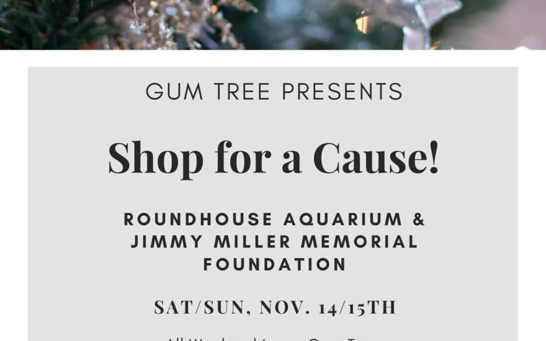 Gum Tree Gives Back to the Roundhouse Aquarium!