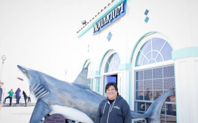 First executive director for Manhattan Beach's Roundhouse Aquarium already making an impact
