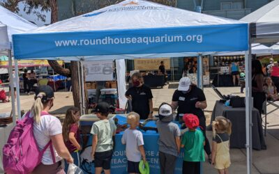 The Roundhouse goes to the Manhattan Beach Farmers' Market!